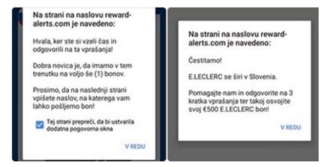 E.Leclerc svari pred spletno prevaro